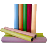 Bright White Paper Co poster printer paper rolls, 30 different colors