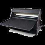 Xyron cold laminators, no electricity, No heat, No waste and No maintenance costs.